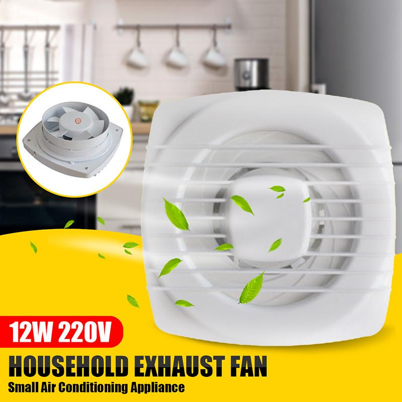 6 pull rope exhaust fan extractor fan ventilation kitchen bathroom toilet small air conditioning appliance 220v 12w low noise buy at a low prices on