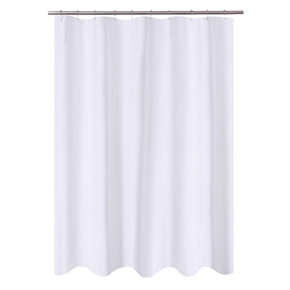 72x60 mildew resistant washable water repellent spa bath fabric shower curtain
