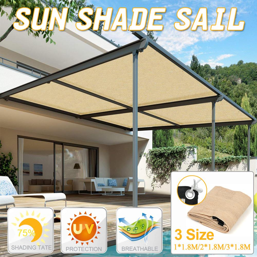 sun shelter waterproof sunshade sail outdoor rectangle shade sail garden terrace canopy swimming yard sail beach car awning