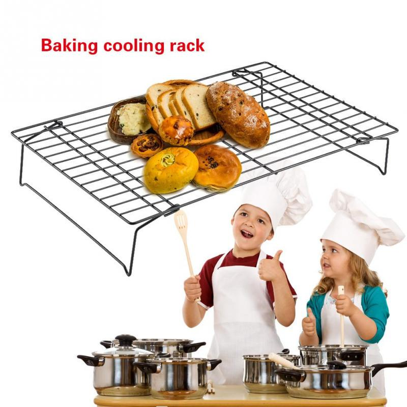 3 tier folding cooling rack baking cake biscuit pie cooler tray stand kitchen baking tool