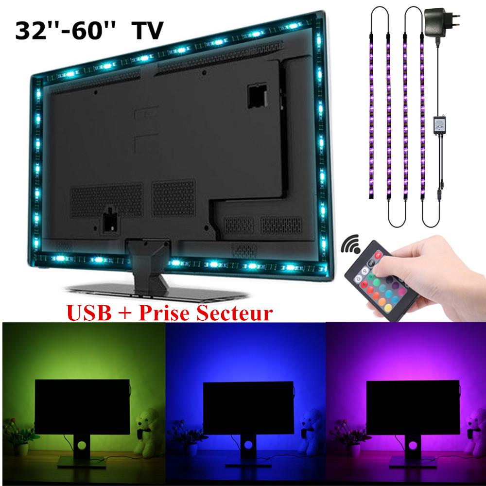 household tv backlight usb bias lighting kit solmore led strip lights 2m monitor light rgb buy at a low prices on joom e commerce platform
