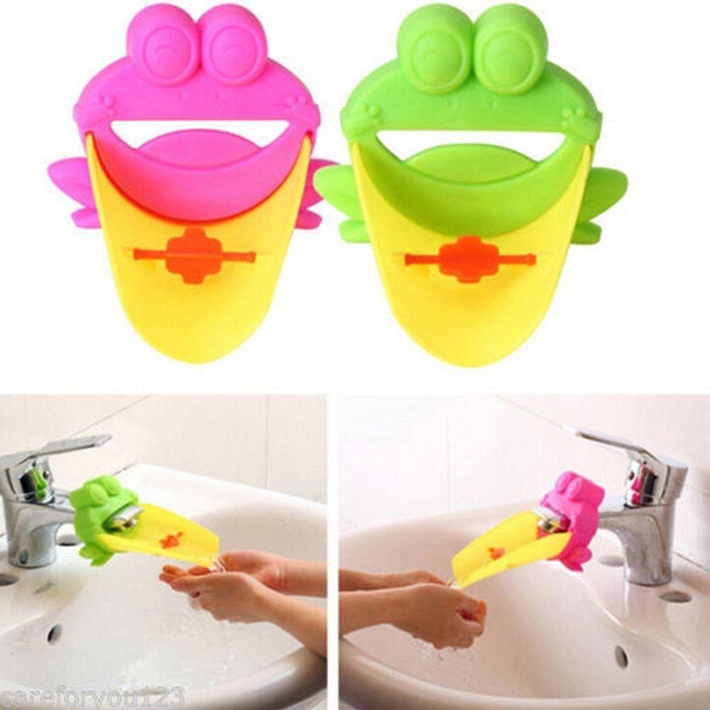 cute for kids for children washing helper water faucet tap extender frog water faucet extender