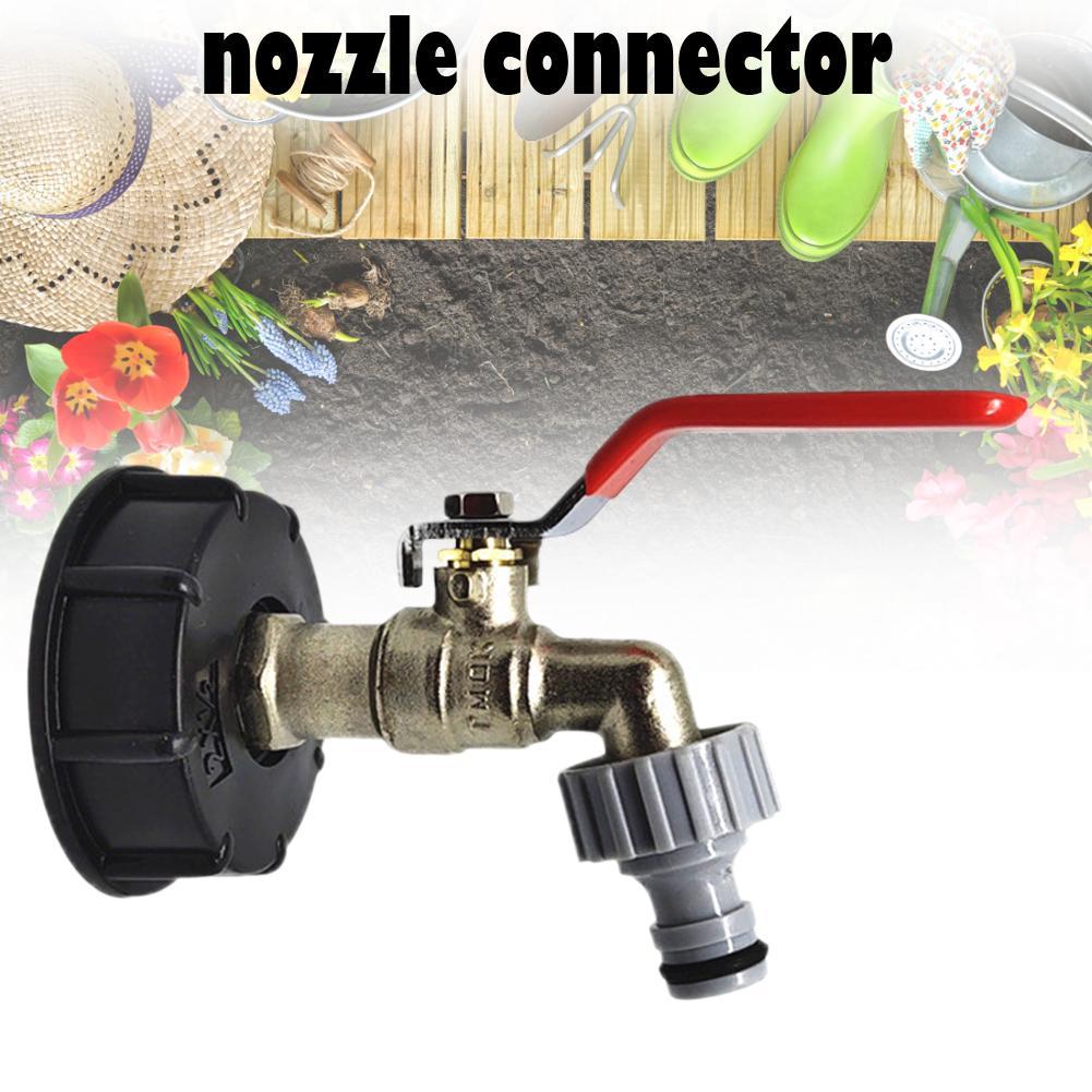 ibc tote tank food grade drain adapter 1 2 garden hose faucet water tank hose connector replacemen
