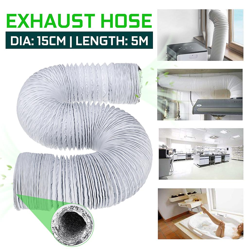 portable air conditioner 5m flexible exhaust hose pipe air vent tube air conditioner accessories ventilation system duct hose