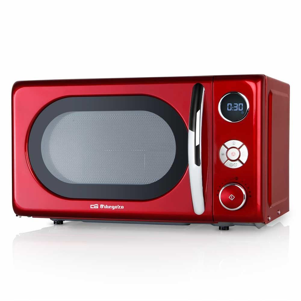 orbegozo mig2042 700 w digital microwave with 20 liter capacity grill and design in red and silver buy at a low prices on joom e commerce platform