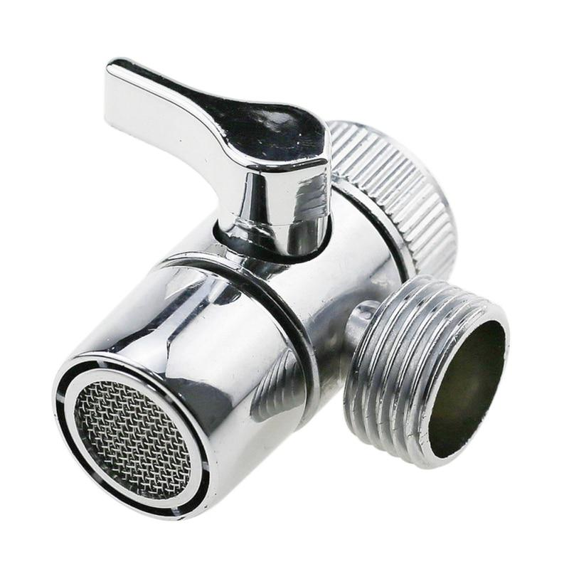 1pcs faucet valve diverter sink valve water tap faucet splitter adapter home bathroom shower diverter kitchen diversion valve