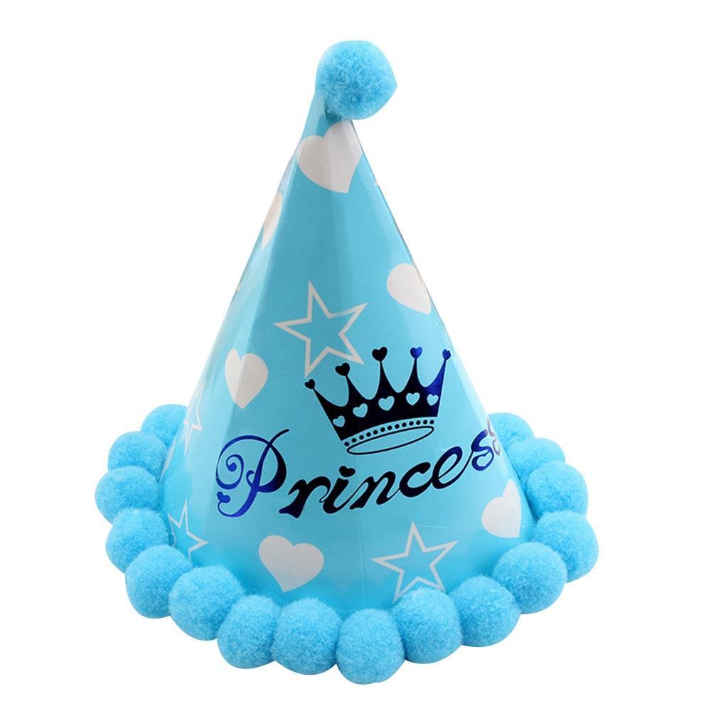 Baby Hat Paper Cone Hat Dress Up Girls Boys My First Birthday Party Cap Supplies Decor X1 Buy At A Low Prices On Joom E Commerce Platform