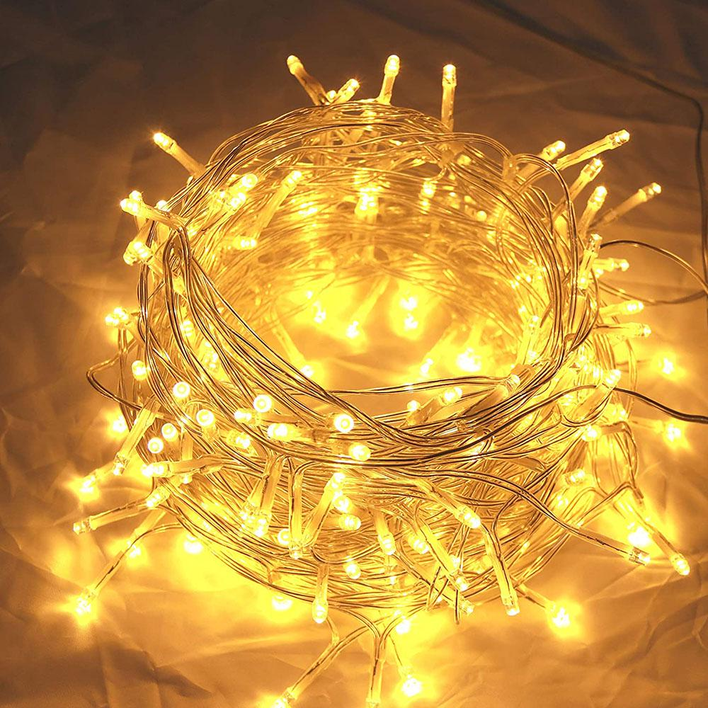 led icicle lights 3meter 4meter 5meter connectable 8 modes curtain fairy string light decor for christmas easter halloween party backdrops decor