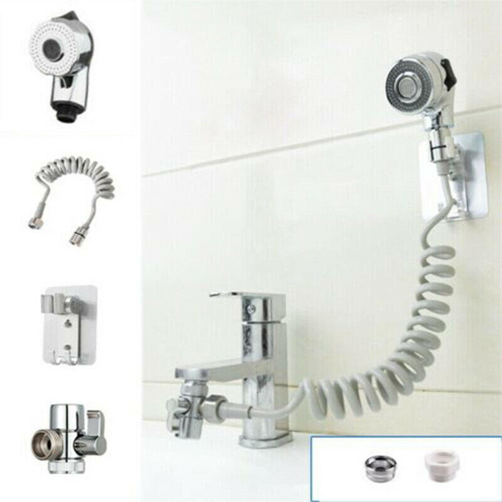 bathroom sink faucet sprayer set external faucet shower clean handheld sprinkler