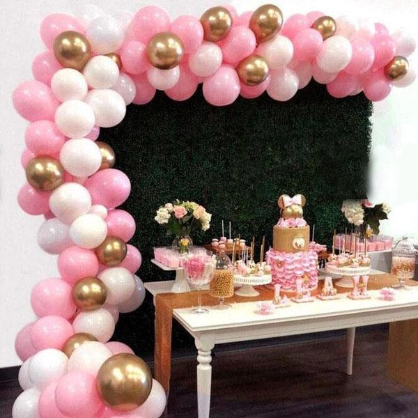 Buy 112pcs Pink Gold Balloon Garland Kit For Girl Birthday Party Decorations At Affordable Prices Free Shipping Real Reviews With Photos Joom
