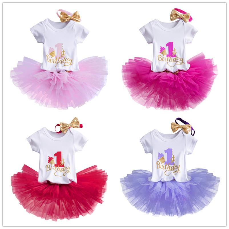 Buy 1 Year Baby Girl Birthday Dress Newborn Baby 1st Birthday Outfits Toddler Girls Photoshoot Costume At Affordable Prices Free Shipping Real Reviews With Photos Joom