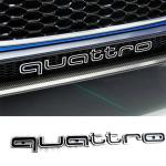 Cool Quattro Logo Badge Emblem Car Sticker Front Grill Lower Trim For Audi A6 A7 Buy At A Low Prices On Joom E Commerce Platform