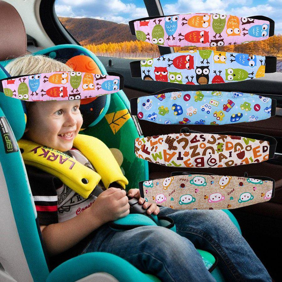 cnmodle car seat headrest kids children outdoor travel head support pillow mb