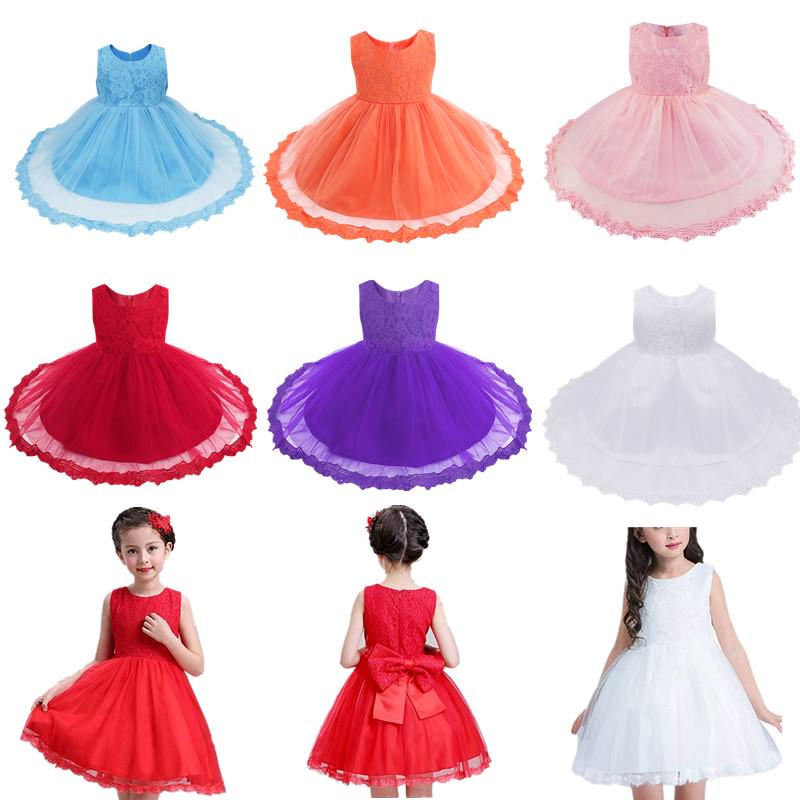 Buy Baby 1st Birthday Dress Newborn Infant Princess Birthday Party Dresses Girl Formal Tutu Dress At Affordable Prices Free Shipping Real Reviews With Photos Joom