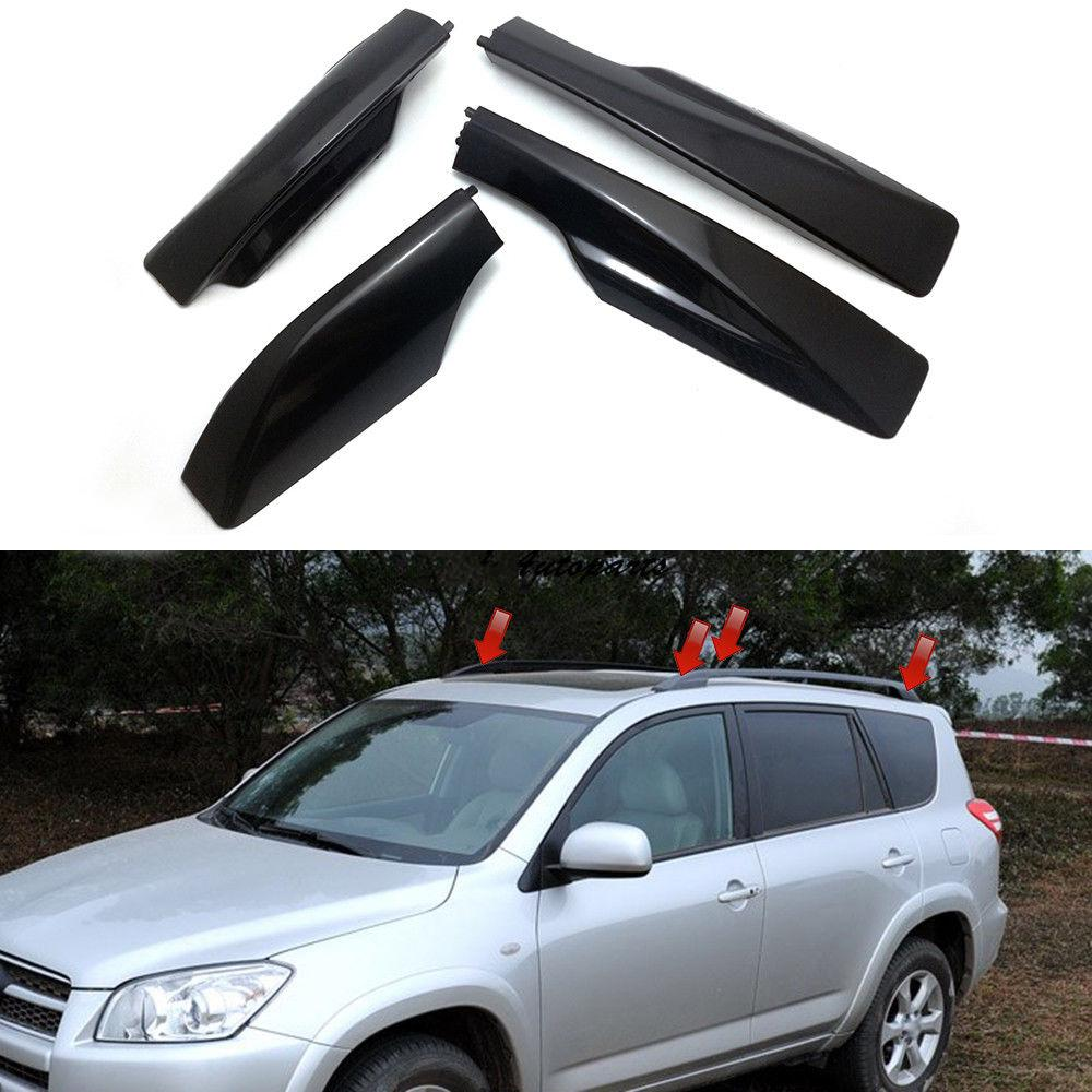4pcs roof rack cover rail end shell replacement for toyota rav4 xa30 2006 2012 buy at a low prices on joom e commerce platform