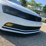Bright Black Front Bumper Lip Spoiler For Volkswagen Vw Jetta Mk6 5 2015 2018 Buy At A Low Prices On Joom E Commerce Platform