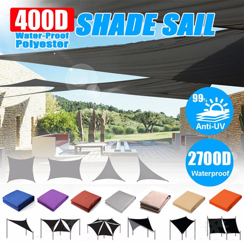 retractable outdoor sun shade sail sun canopy outdoor garden plant cover awning decoration