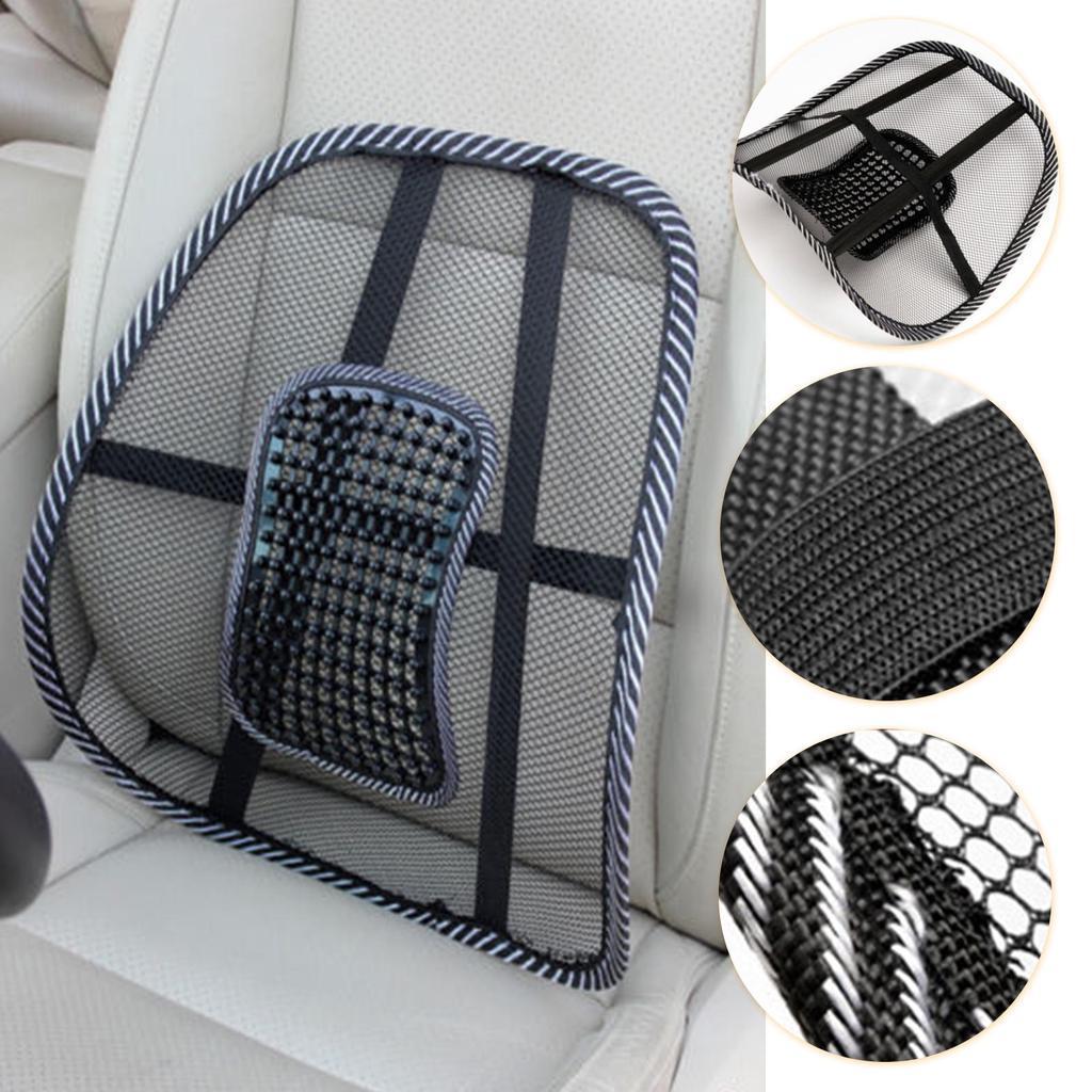 seats waist rest cushion chair back support car home auto lumbar cooling pillow massage