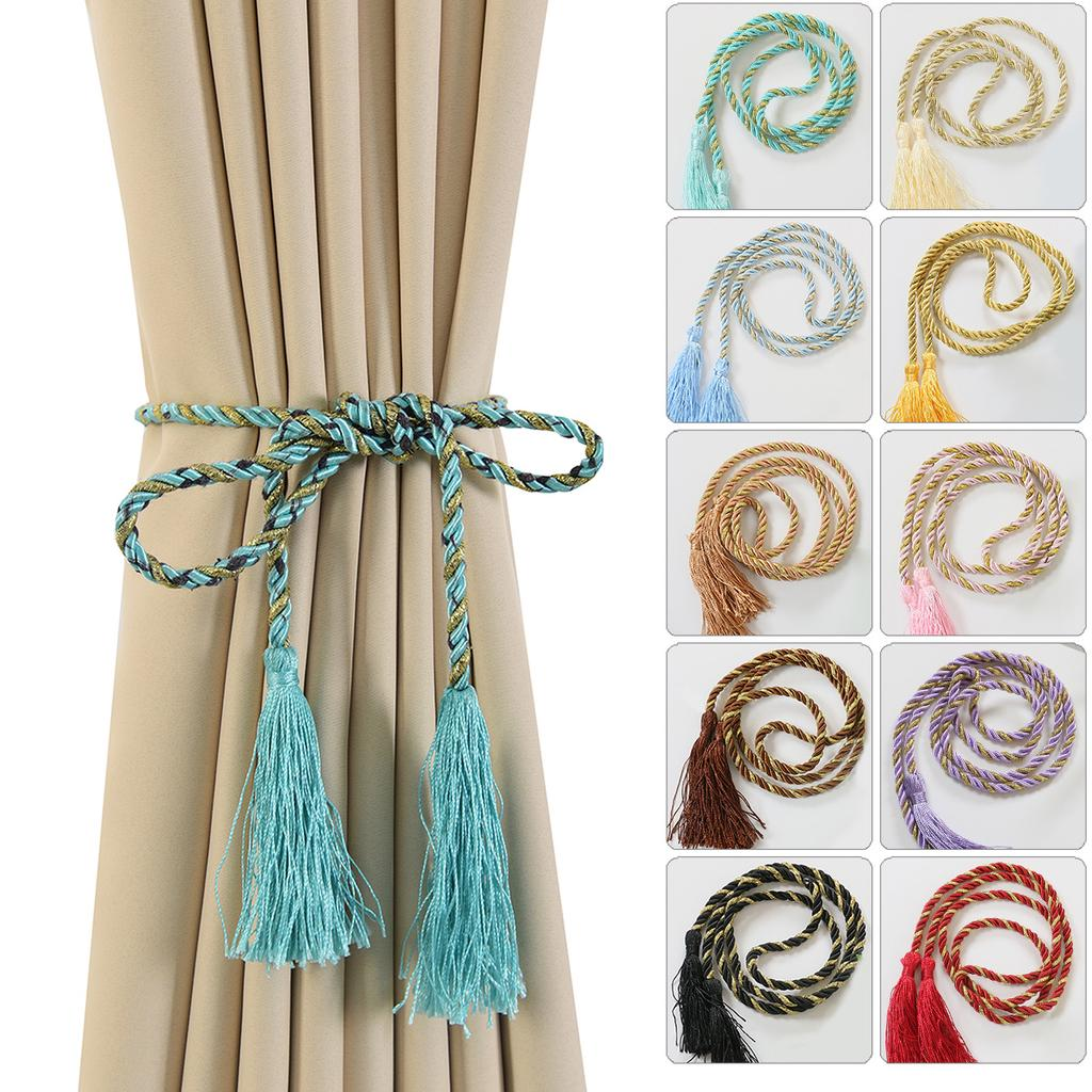 tie backs tassel curtain curtain rope tieback window drapery holdback decor buy at a low prices on joom e commerce platform