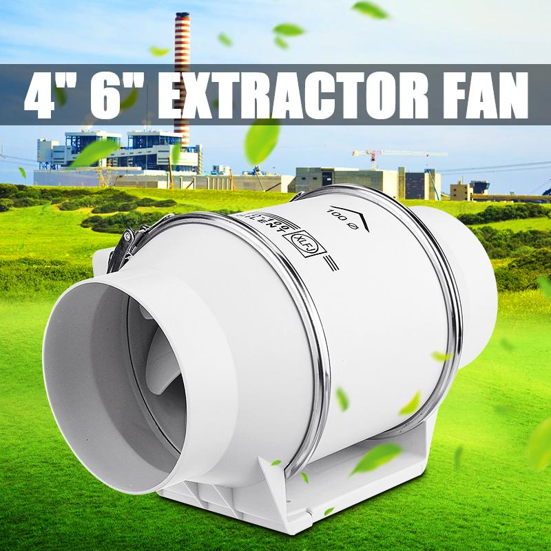 silent inline pipe duct fan strong ventilation system extractor exhaust fan for kitchen bathroom buy at a low prices on joom e commerce platform