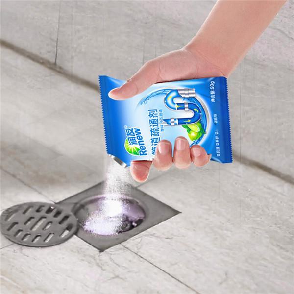 powerful sink drain cleaner pipe dredging agent kitchen toilet sewer blocking clean deodorant dredge