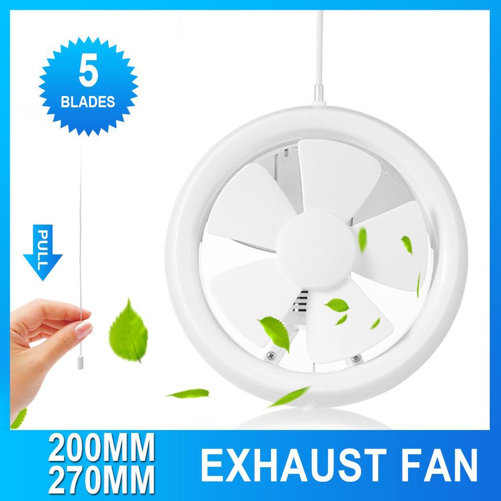6 8 ventilation extractor exhaust fan blower home window wall kitchen bathroom