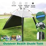 Portable Beach Canopy Sun Shade Patchwork Tent Shelter Camping Fishing Buy At A Low Prices On Joom E Commerce Platform