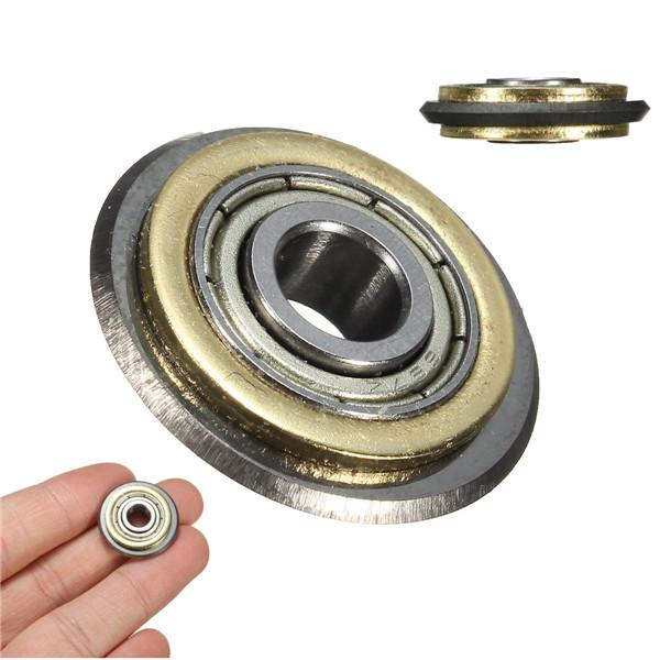 1x ball bearing cutting wheel tile cutter replacement spare blade 22x6x6mm shafts titanium coated
