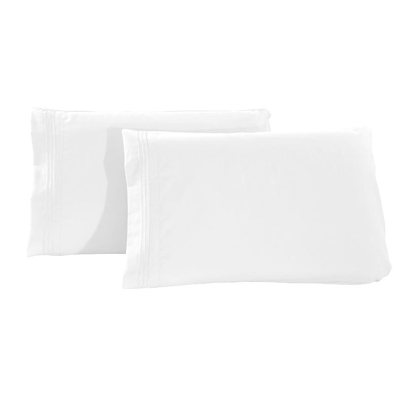2pcs set protectors pillow case envelope pillowcase king standard queen cotton soft breathable