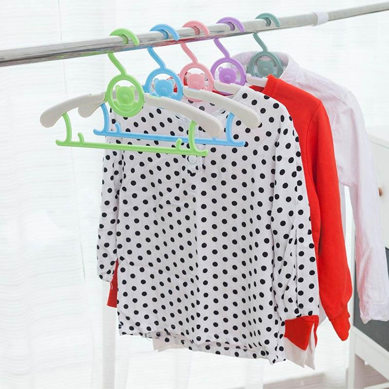 5pcs adjustable durable children clothes pegs kid clothes racks baby clothes hanger cute cartoon buy at a low prices on joom e commerce platform