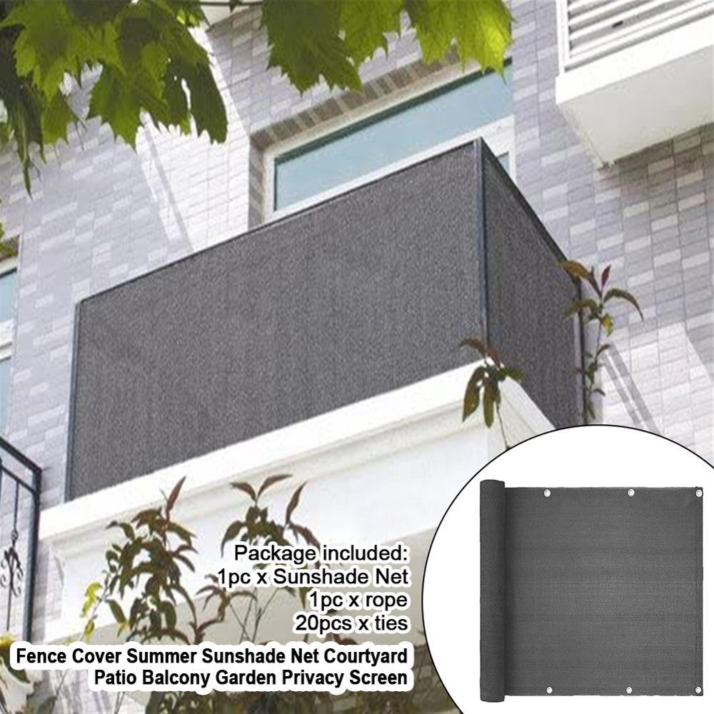 balcony garden net fence cover mesh home privacy netting screen windscreen sun shade yard awning buy at a low prices on joom e commerce platform