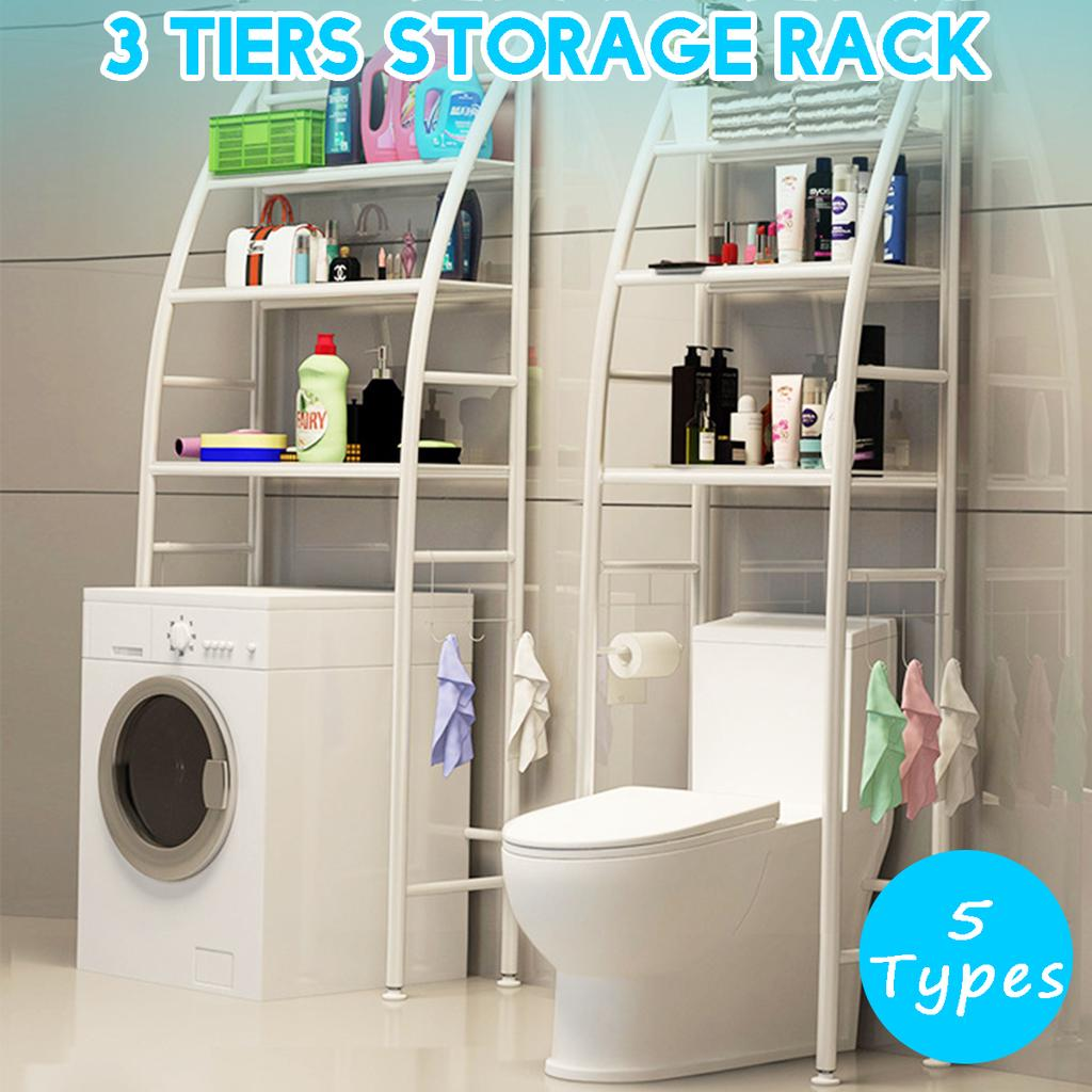 5 types rack metal toilet cabinet shelving washing machine rack space saver shelf organizer holder buy at a low prices on joom e commerce platform
