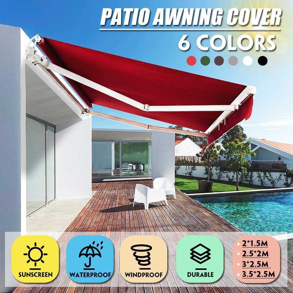 sun shelter sunshade protection outdoor yard garden patio pool sail anti uv tent waterproof