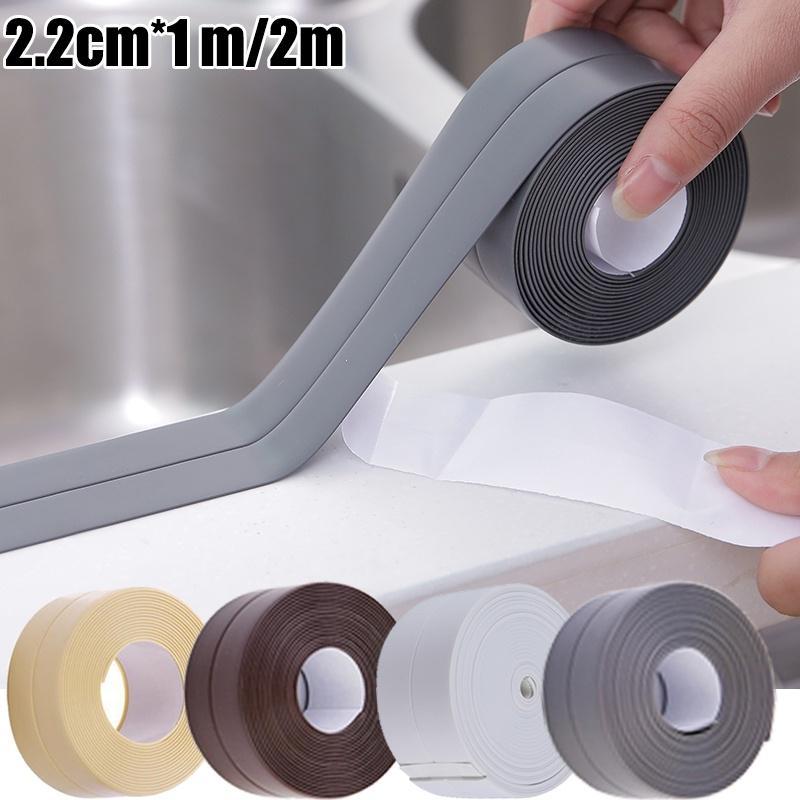 caulk strip flexible self adhesive sealing tape waterproof for kitchen bathroom tub shower floor buy at a low prices on joom e commerce platform