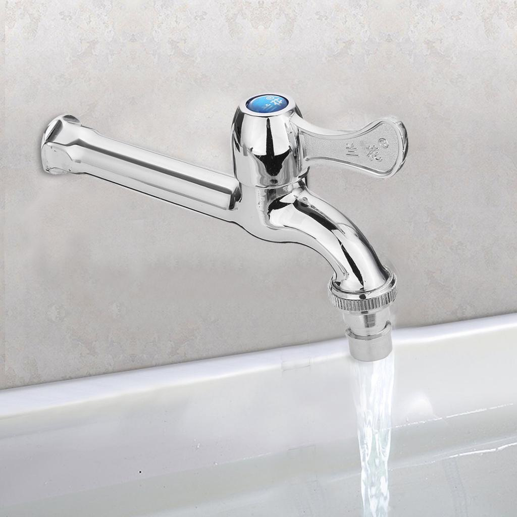 wall mount washing machine water extra long faucet garden bathroom sink tap buy at a low prices on joom e commerce platform