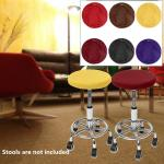 Round Chair Cover Bar Stool Cover Seat Cover Home Chair Slipcover Chair Bar Stool Floral Printed Buy At A Low Prices On Joom E Commerce Platform