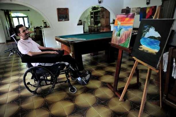A temática vai desde contemplações a locais que marcaram a vida do artista - EMIDIO MARQUES