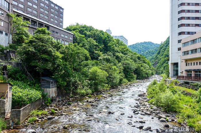 [札幌] 定山溪溫泉來回小旅行,定鐵巴士一日券,多家合作溫泉旅館分佈圖整理