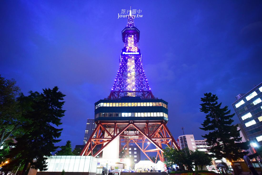 北海道夜景,札幌市夜景,札幌電視塔,札幌電視塔展望台,大通公園,札幌景點