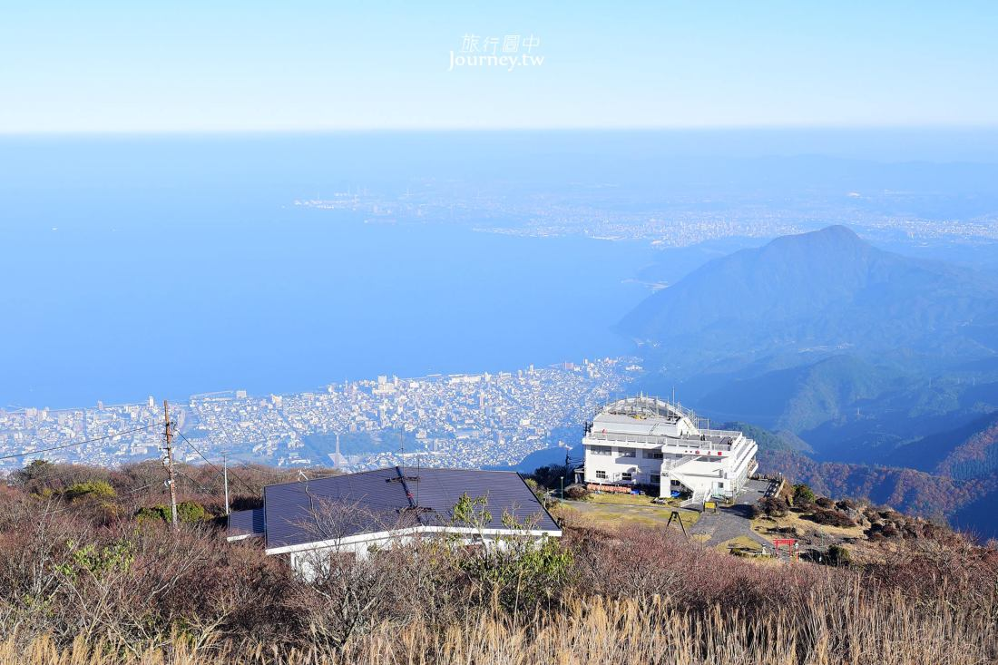 日本九州,九州景點,別府景點,別府纜車,由布院,鶴見岳,九州楓葉
