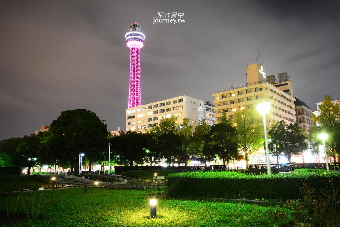橫濱海洋塔,横浜マリンタワー,神奈川,橫濱夜景,橫濱港,橫濱景點,元町,中華街