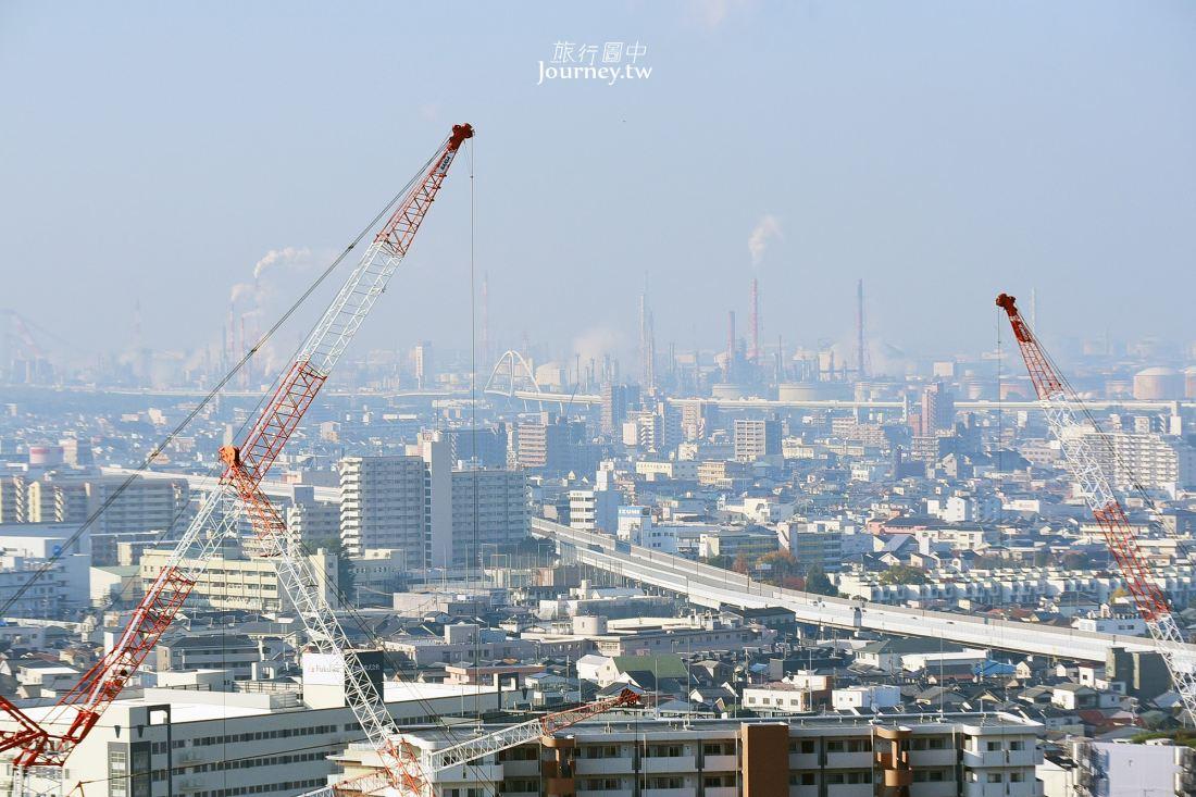 日本,大阪,大阪景點,堺市,堺市役所,展望台,大阪夜景