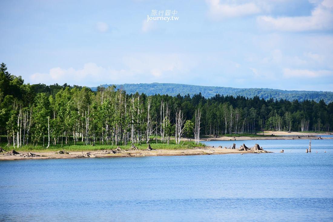 日本,北海道,北海道景點,道北,朱鞠内湖,美深