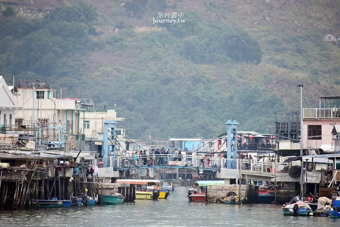 香港,大澳,大澳漁村