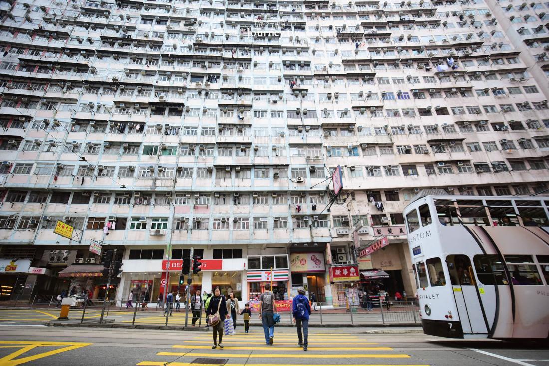 香港,海山樓,彩虹邨,南山邨,佐敦街景