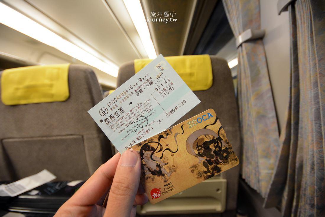 關西機場,直達京都,交通,關空特快列車,Haruka,利木津巴士,購票、搭乘方式