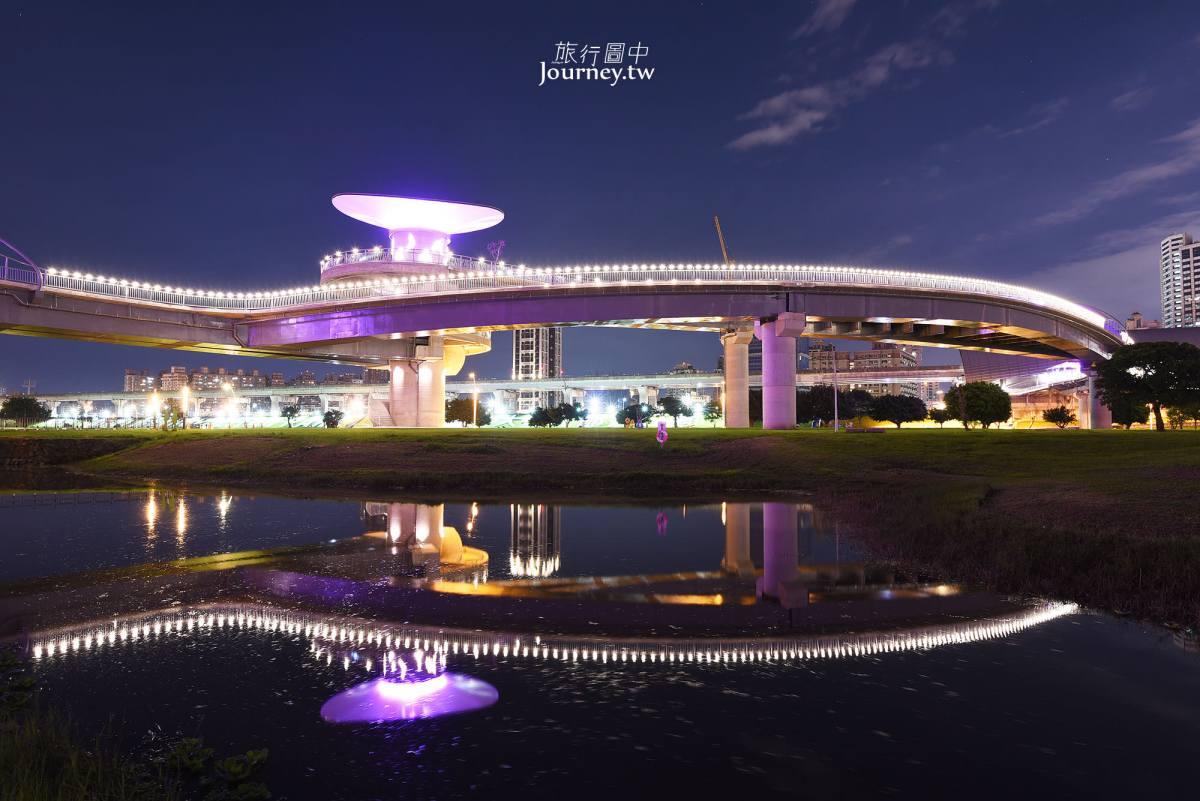 新北、三重|辰光橋・越夜越美麗的大台北都會公園