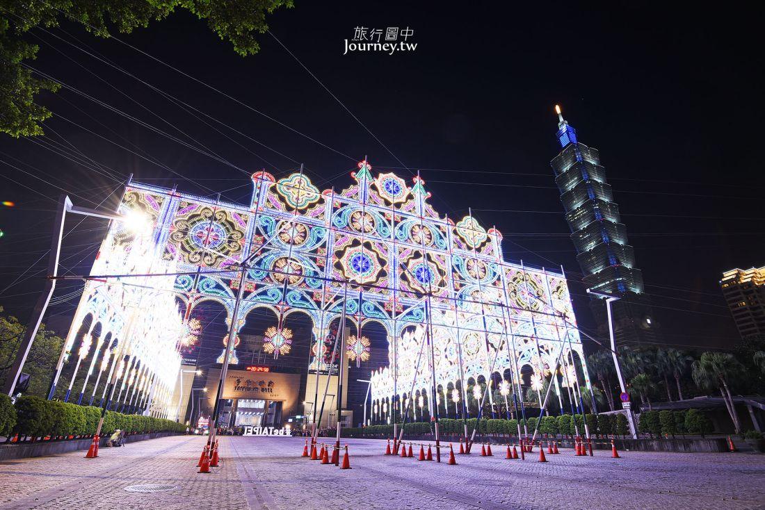2019台北光之饗宴,台北市,信義區,元宵節,市政府廣場,仁愛路