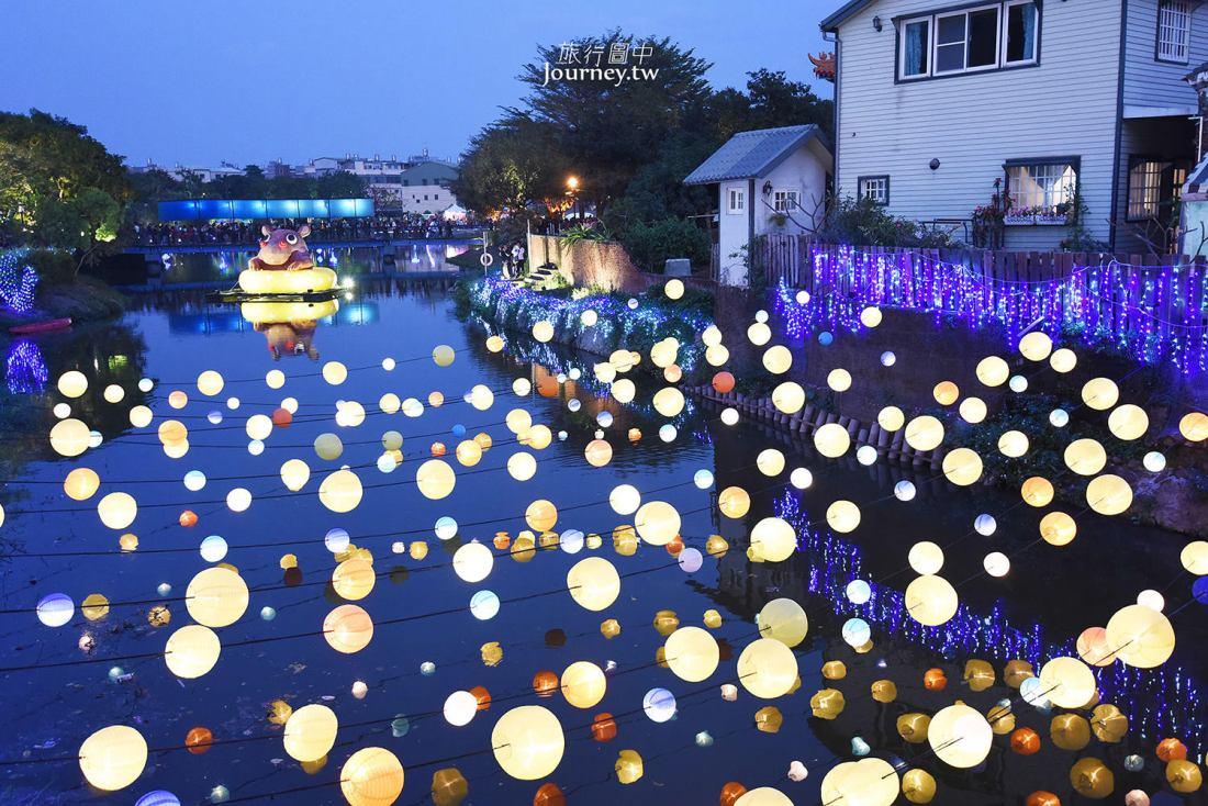 台南,鹽水,元宵燈會,2019,月津港燈節