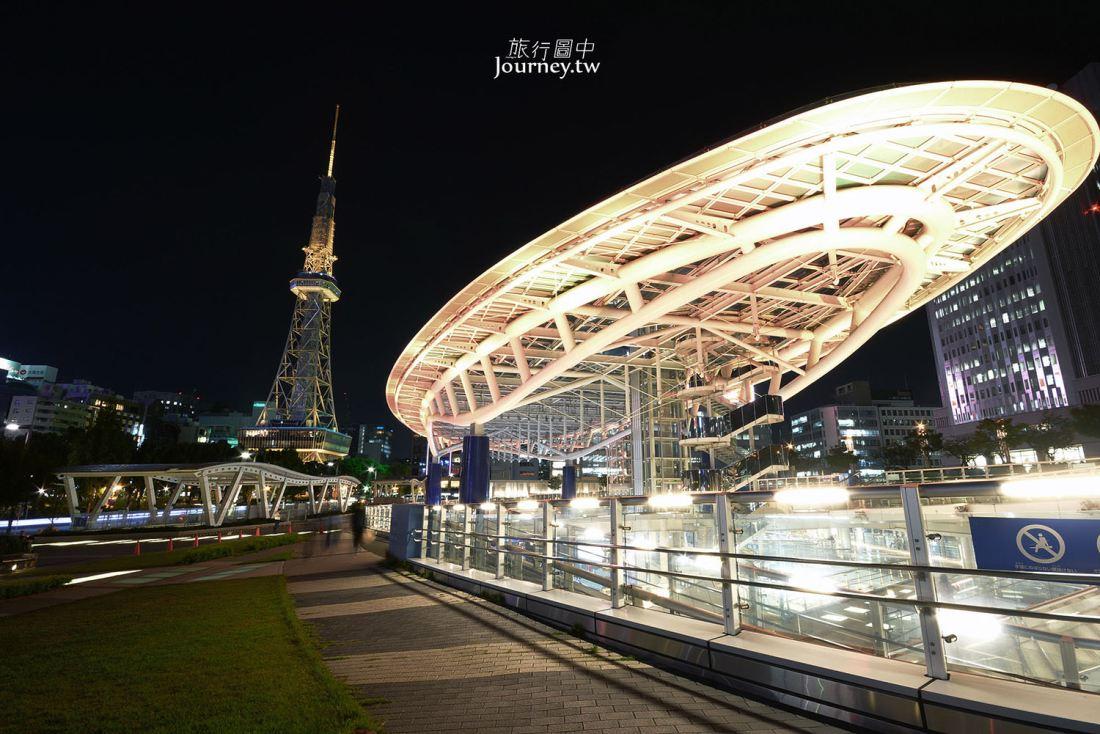 愛知,名古屋,綠洲21,水之宇宙飛船,名古屋夜景